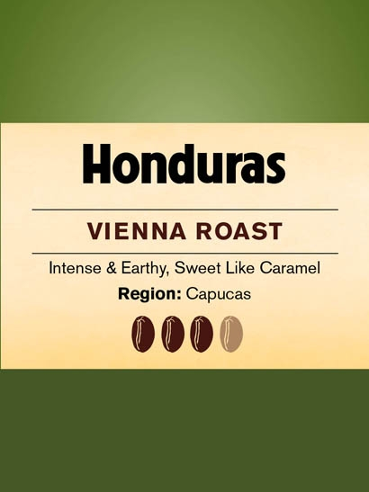 Honduras Vienna Roast FT