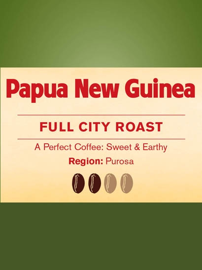 Papua New Guinea Full City Roast FT