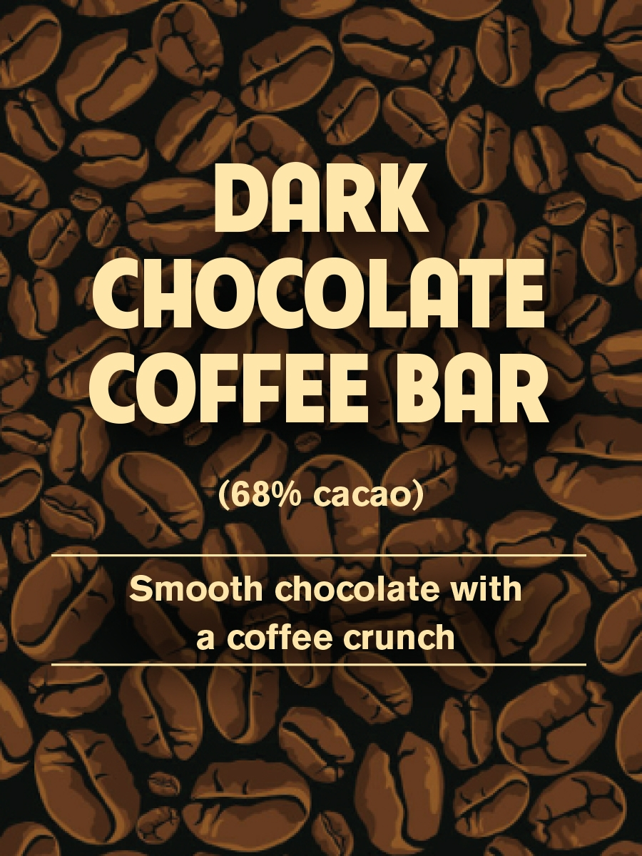 Dark Chocolate Coffee Bar